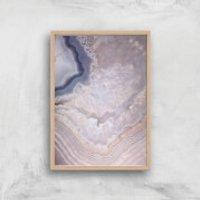 Indigo Lull Giclee Art Print - A2 - Wooden Frame - Indigo Gifts