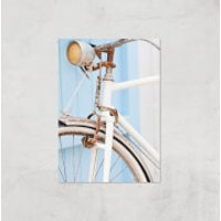 Rusty Bicycle Giclee Art Print - A4 - Print Only - Bicycle Gifts