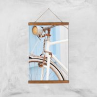 Rusty Bicycle Giclee Art Print - A3 - Wooden Hanger - Bicycle Gifts