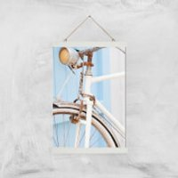 Rusty Bicycle Giclee Art Print - A3 - White Hanger - Bicycle Gifts
