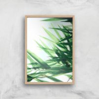 Life Giclee Art Print - A3 - Wooden Frame - Life Gifts