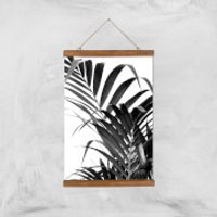 Palm Life Giclee Art Print - A3 - Wooden Hanger - Life Gifts