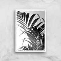Palm Life Giclee Art Print - A2 - White Frame - Life Gifts