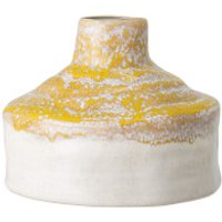 Bloomingville Reactive Glaze Vase - Yellow