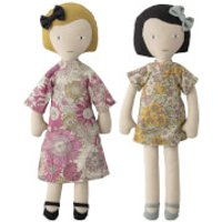 Bloomingville MINI Dolls (Set of 2)