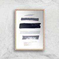 Tranquil Giclee Art Print - A3 - Wooden Frame
