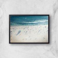 Salty Air Giclee Art Print - A2 - Black Frame
