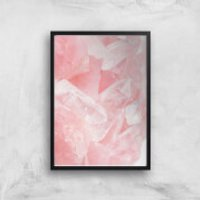 Love Quartz Giclee Art Print - A2 - Black Frame