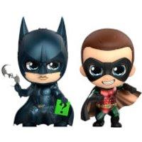 Hot Toys Batman Forever Cosbaby Mini Figures 2-Pack Batman & Robin 11 cm