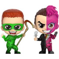 Hot Toys Batman Forever Cosbaby Mini Figures 2-Pack The Riddler & Two-Face 11 cm