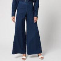 Simon Miller Women's Wide Leg Trousers - Rinsedown - W29