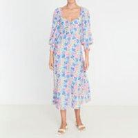 Faithfull the Brand Women's Mathilde Midi Dress - Jemima Floral Print - S