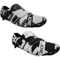 Bont Riot Road Shoes - EU 44 - White/Black