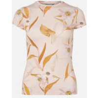 Ted Baker Women's Juliay Cabana Jersey Fitted T-Shirt - Pink - UK 14
