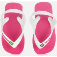 Havaianas Toddlers' Brasil Logo II Flip Flops - Hollywood Rose - EU 23-24/UK 7 Toddler