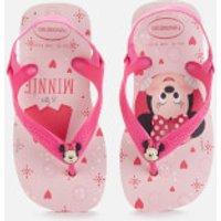 Havaianas Toddlers' Disney Classics II - Minnie Flip Flops - Crystal Rose - EU 21/UK 6 Toddler