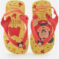 Havaianas Toddlers' Disney Classics II - Micky Flip Flops - Lemon Yellow - EU 21/UK 6 Toddler