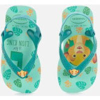 Havaianas Toddlers' Disney Classics II - Simba Flip Flops - Green Dew - EU 22/UK 6.5 Toddler