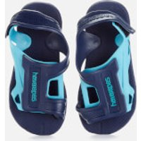 Havaianas Kids' Move Flip Flops - Navy Blue - EU 29-30/UK 12 Kids