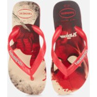 Havaianas Kids' Marvel Flip Flops - Spiderman - Ruby Red - EU 29-30/UK 12 Kids