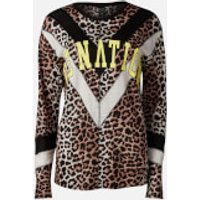 P.E Nation Women's Bar Down Long Sleeve T-Shirt - Leopard - M