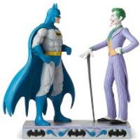DC Comics by Jim Shore Batman™ vs The Joker Figurine 21.5cm