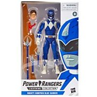 Hasbro Power Rangers Lightning Collection Mighty Morphin Blue Ranger 6-Inch Premium Collectible Action Figure - Power Rangers Gifts