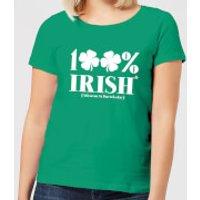 100% Irish* Women's T-Shirt - Kelly Green - XS - Kelly Green