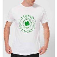 Liquid Luck Men's T-Shirt - White - XL - White