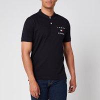 Tommy Hilfiger Men's Regular Fit Flag Polo Shirt - Desert Sky - S