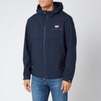Tommy Hilfiger Mens Hooded Jacket - Desert Sky - M