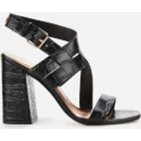 Ted Baker Women's Kaseraa Block Heeled Sandals - Black - UK 3