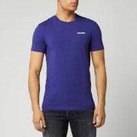 Dsquared2 Men's Chest Logo Melange T-Shirt - Deep Purple - L