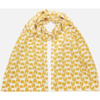 Joules Women's Conway Scarf - Gold Dalmation