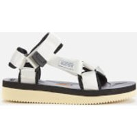 Suicoke Women's Depa-V2 Nylon Sandals - White - UK 8