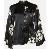 McQ Alexander McQueen Women's Iki Shirt - Black/White - IT 38/UK 8