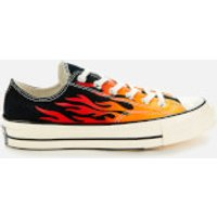 Converse Men's Chuck Taylor All Star 70 Ox Trainers - Black/Enamel Red/Egret - UK 8