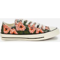 Converse Women's Chuck Taylor All Star Ox Trainers - Egret/Multi/Black - UK 4
