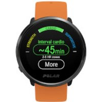 Polar Ignite GPS Sports Watch - M-L - Orange/Black