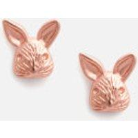 Olivia Burton Women's 3D Bunny Studs Rose - Gold