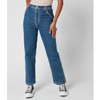 Levi's Women's Ribcage Straight Ankle Utility Jeans - Nine to Five - W25/L29
