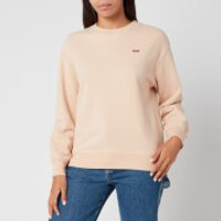 Levi's Women's Standard Crew Neck Sweatshirt - Toasted Almond - M