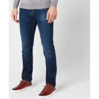 Jacob Cohen Men's Orange Badge Slim Denim Jeans - Blue - W30/L34