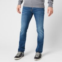 Jacob Cohen Men's Brown Badge Slim Denim Jeans - Blue - W34/L34