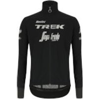 Santini Trek-Segafredo Pro Team Guard Mercurio Rain Jacket - S