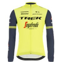 Santini Trek-Segafredo Training Classe Long Sleeve Jersey - XS