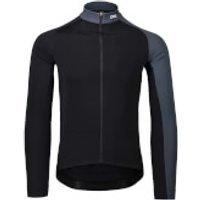 POC Essential Road Mid Long Sleeve Jersey - S - Black/Grey