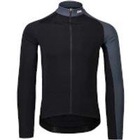 POC Essential Road Mid Long Sleeve Jersey - XL - Black/Grey