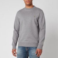 PS Paul Smith Men's Zebra Logo Regular Fit Sweatshirt - Grey Melange - XL