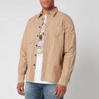 PS Paul Smith Men's Pocket Shirt - Beige - XL